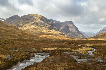 Het prachige landschap van Glencoe in Schotland van Jos Pannekoek