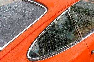 Porsche 911 Klassiker 1966 Sportwagen Heckendetail