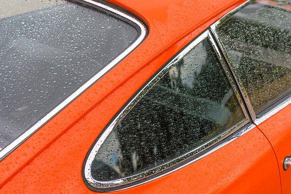 Porsche 911 classic 1966 klassieke sportauto achterkant detail