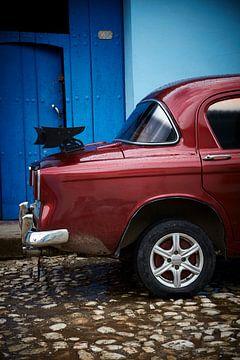 Musclecar in Trinidad Cuba van Karel Ham