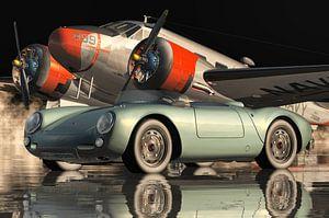 Porsche 550-A Spyder von 1956