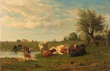Kühe auf der Weide, Gerard Bilders