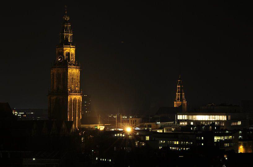 Martinitoren, Groningen  van Pim Feijen