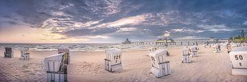 Strand von Heringsdorf auf der Insel Usedom von Voss Fine Art Photography