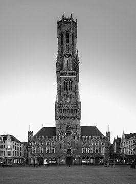 Belfort van Brugge, België van Henk Meijer Photography