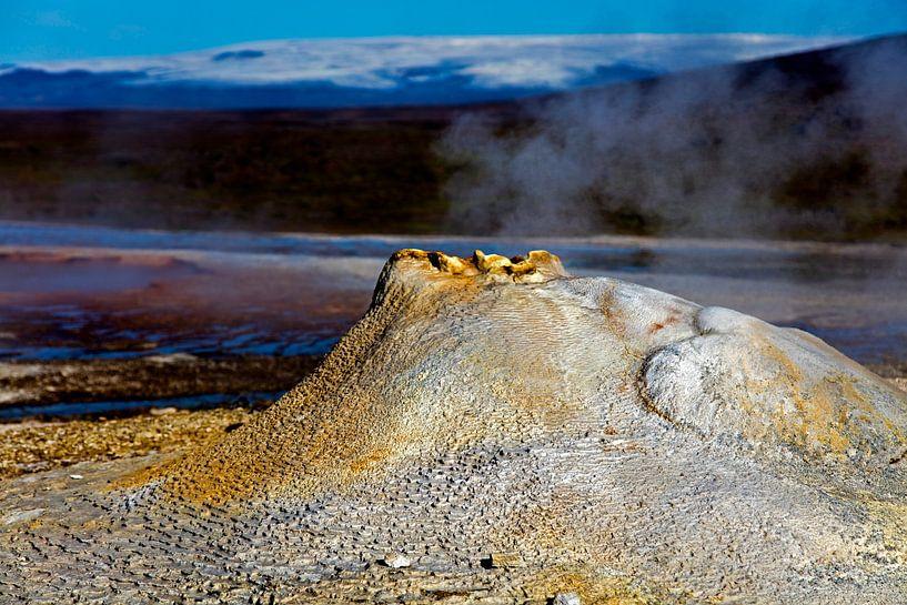 Hveravellir te IJsland van Anton de Zeeuw