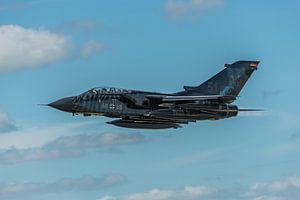 Take-off van een hele fraaie Panavia Tornado ECR (46+28) van de Duitse  Luchtmacht tijdens de NAVO T