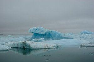 Jökulsárlon, IJsland van