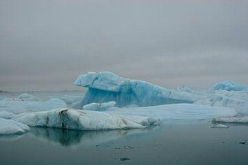 Jökulsárlon, IJsland von Eddo Kloosterman