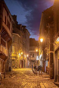 Een avond in Dinan van Manuuu S