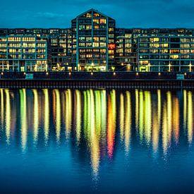 Nijmegen by night #10 van Lex Schulte