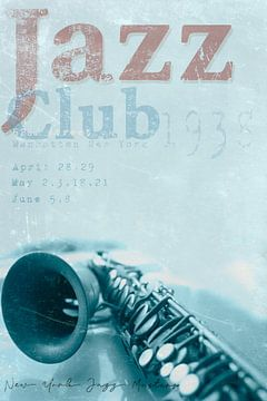 Jazz Club 1938 van Bert-Jan de Wagenaar