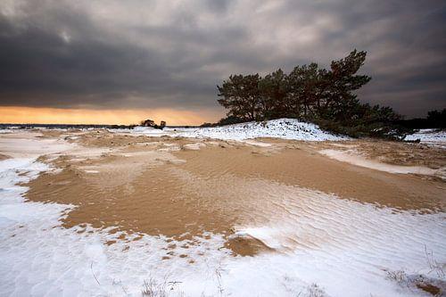 Sneeuw en Zand II van Mark Leeman