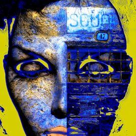 The blue side van Gabi Hampe