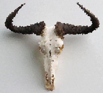 Wildebeest in Art von Maja Smits