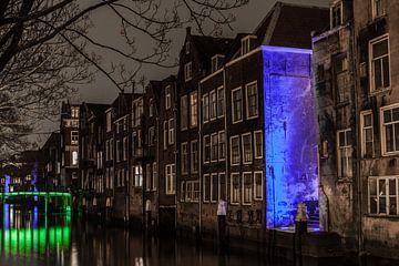 Dordrecht Pottenkade (achterzijde Voorstraat) van John Ouwens