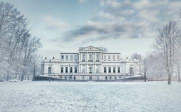 Haarlem: Paviljoen Welgelegen in de sneeuw. von Olaf Kramer