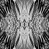 PRETTY BLACK & WHITE LINE PATTERN van Pia Schneider thumbnail