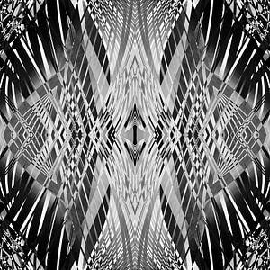 PRETTY BLACK & WHITE LINE PATTERN