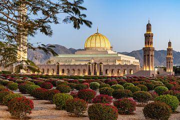 Sultan Qaboos Grote Moskee van Jeroen Kleiberg