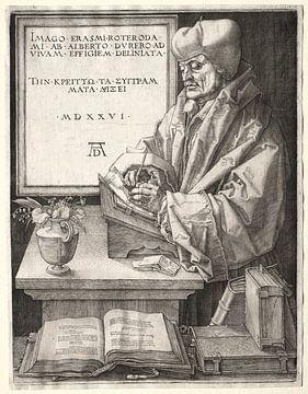 Desiderius Erasmus aus Rotterdam, Albrecht Dürer von De Canon