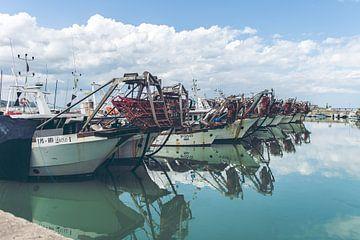 Fischerboote von Erik Rudolfs
