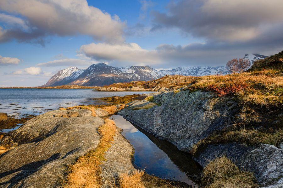 Winterlicht op de Lofoten