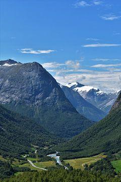 Typisch Noors uitzicht von Wouter Verhage