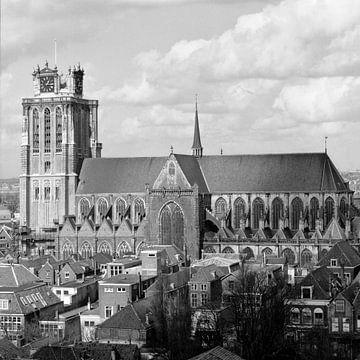 De Grote of Onze-Lieve-Vrouwekerk te Dordrecht von Dordrecht van Vroeger