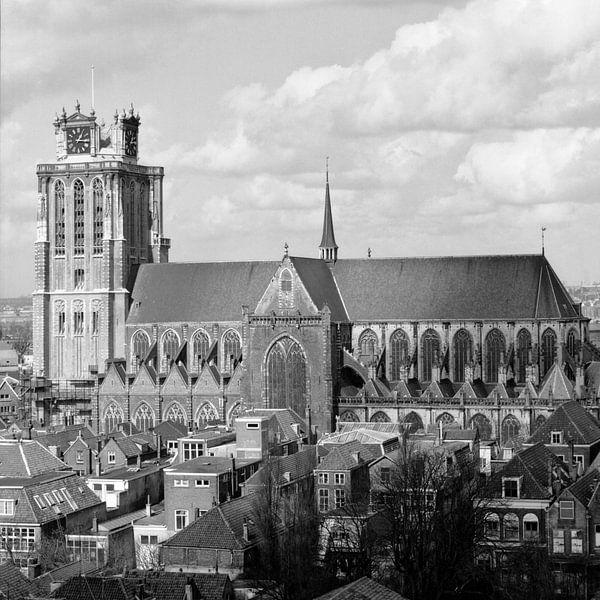 De Grote of Onze-Lieve-Vrouwekerk te Dordrecht van Dordrecht van Vroeger