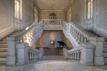 Escalier abandonné sur Kristof Ven