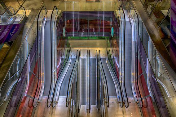 Roltrappen Markthal Rotterdam - Escalators Markthal Rotterdam