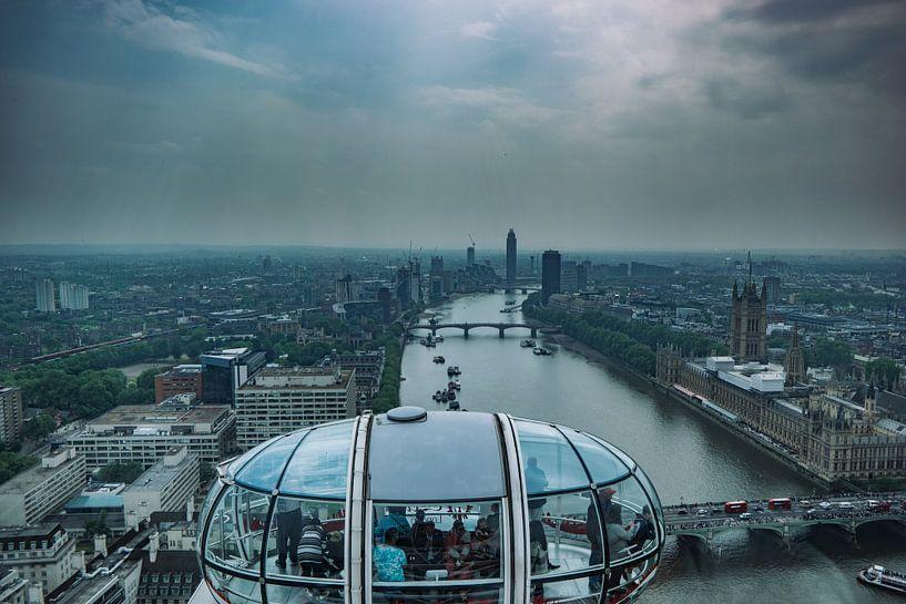 View on London  van Joran Maaswinkel