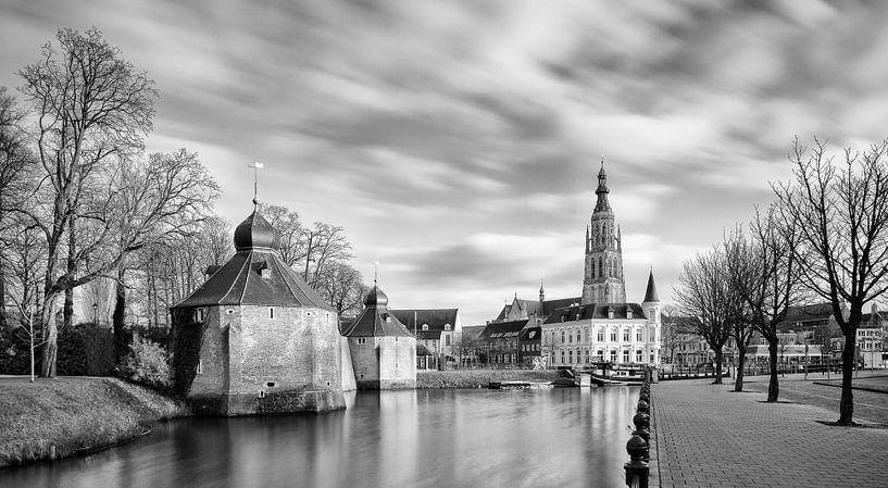 Historische Breda Spanjaardsgat von JPWFoto