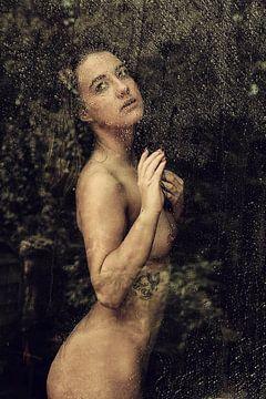 November Rain (nude / naakt) von Kees de Knegt