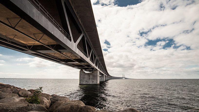 Pont de l'Oresund, Suède sur Sebastiaan Aaldering