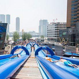 Waterplezier Erasmusbrug Rotterdam sur Dexter Reijsmeijer