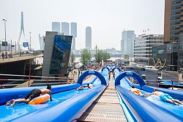 Waterplezier Erasmusbrug Rotterdam van Dexter Reijsmeijer