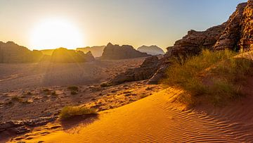 Sonnenaufgang in Wadi Rum, Jordanien von Jessica Lokker