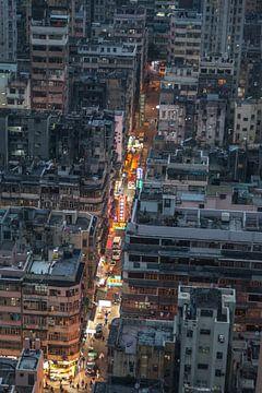Au-dessus de Hong Kong sur Albert Mendelewski