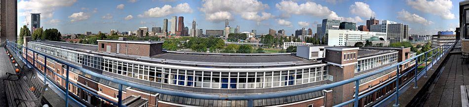 Skyline DenHaag van Abe Maaijen