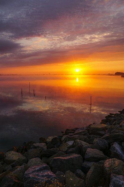 Sunrise! van Dirk van Egmond