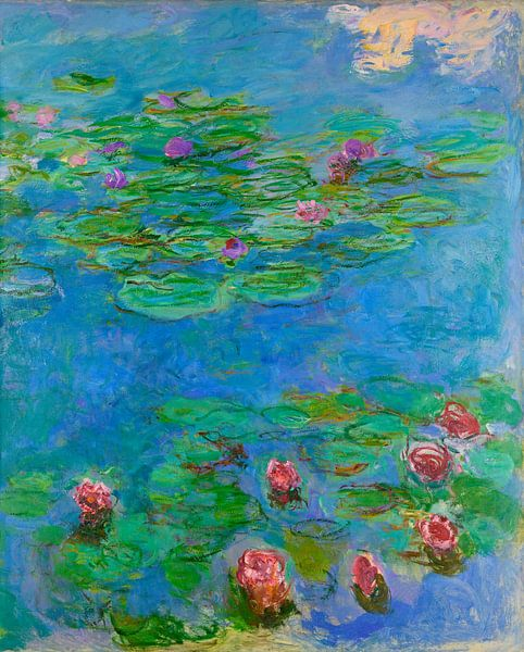 Seerosen (Detail), Claude Monet von Meesterlijcke Meesters
