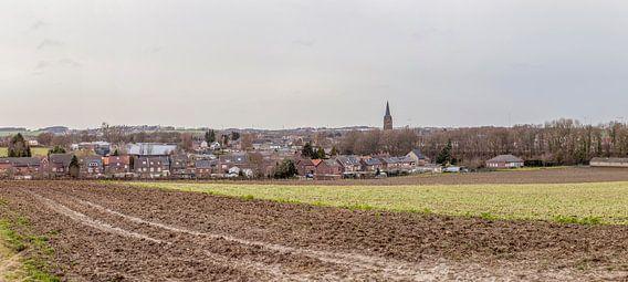 Uitzicht over Bocholtz in Zuid-Limburg