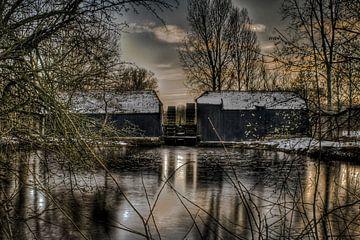 Collse Watermolen von BL Photography