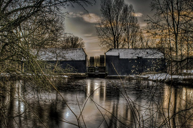 Collse Watermolen van BL Photography