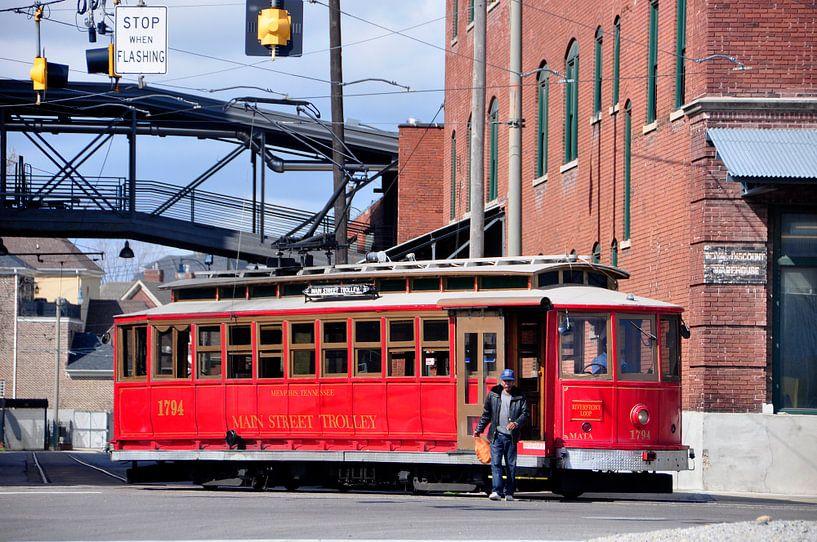 Tram in Memphis van Arno Wolsink