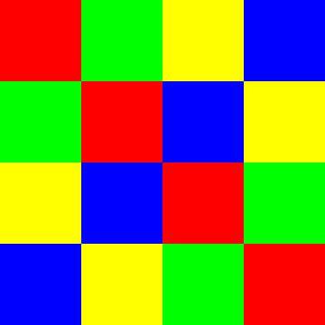 4x4 in 16 | ID=04 | V=13 | P #01 van Gerhard Haberern