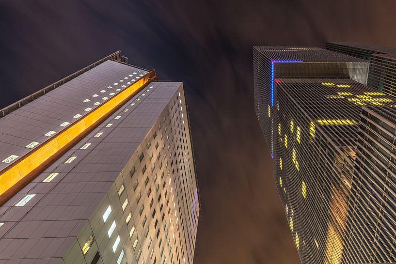 Rotterdam wolkenkrabbers von Dennisart Fotografie