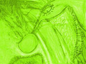 Phantasie - grün sur Katrin Behr